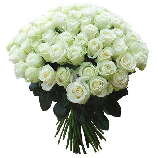 Znalezione obrazy dla zapytania bukiet białych róz